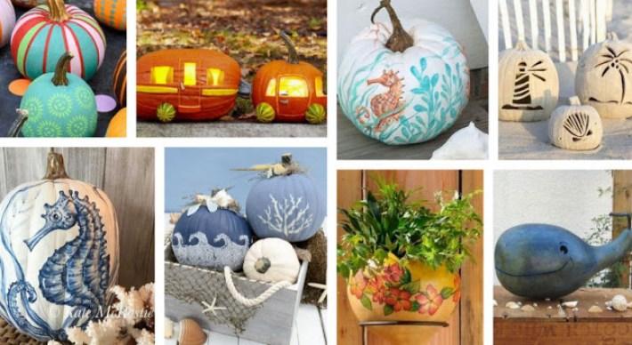 Cool DIY summer crafts with pumpkins