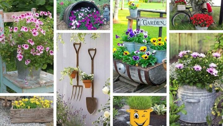 40 Beautiful DIY garden decor ideas that everyone will admire