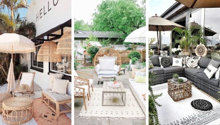Patio, a relaxing space decorated with beautiful Scandinavian touches