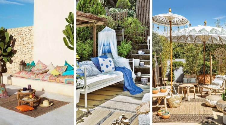 20 Gardens decorated in romantic, urban, boho style and a lot of charm