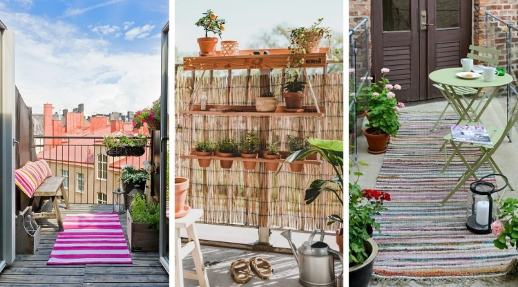 How to arrange a small balcony to create a cozy space – 32 amazing ideas for inspiration