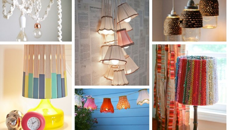 23 Cute DIY light fixtures that fit perfectly into any room design