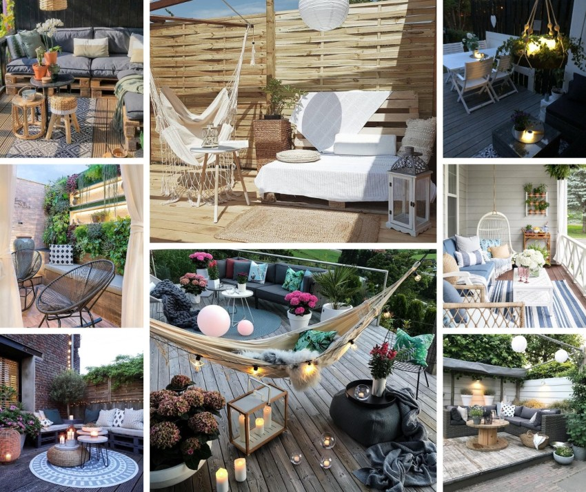 43 Amazing wooden balcony- terrace inspirations to apply in your home