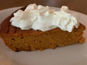 eat more vegetables with pumkin pie
