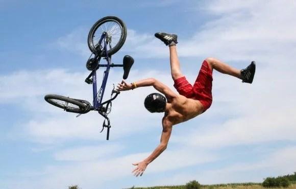 extreme biking