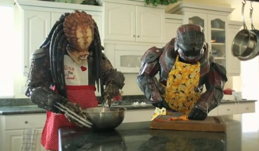 Halo vs Predator cook off