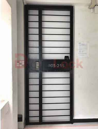 My Digital Lock Mall Gate Factory Selling Straight With