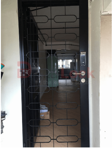 7. Single Leaf Retro HDB Mild Steel Gate 1 copy