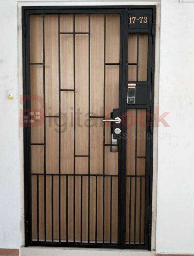 Straight Ladder Design Mild Steel Hdb Gate