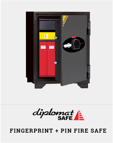 Fingerprint Fire Safe