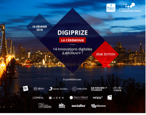 #INNOVATION  -  DIGIPRIZE  : 14 Innovations Digitales à découvrir ! @ Boulogne-Billancourt | Île-de-France | France