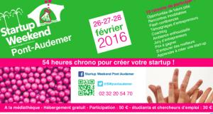 #STARTUPS - WEEK-END Pont d'AUDEMER