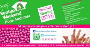 #STARTUPS - WEEK-END Pont d'AUDEMER