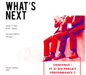 #MARKETING - Contenus et si on parlait performance ? By DigitasLbi @ Publicis  | Paris | Île-de-France | France