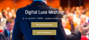 #MARKETING  - Digital Luxe Meetings - By One Place Corporate @ Paris-8E-Arrondissement | Île-de-France | France