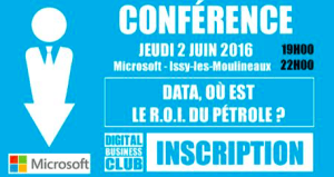 #eMARKETING  - Data, où est le R.O.I. du pétrole? - By Digital Business News @ MICROSOFT  | Issy-les-Moulineaux | Île-de-France | France