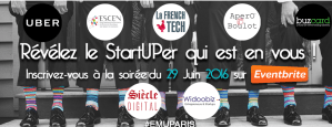"#ENTREPRENARIAT  - En Mode UP! ""VisMaVie"" de StartUP - By En Mode UP! @ ESCEN PARIS  