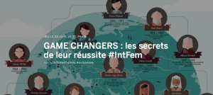#INNOVATION - Game changers - By l'International au Feminin @ Paris-9E-Arrondissement | Île-de-France | France