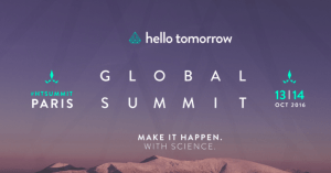 #INNOVATIONS - Hello Tomorrow Global Summit 2016 - By Frenchtech @ Centquatre | Paris | Île-de-France | France