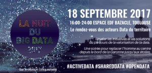 #SMARTCITY - LA NUIT DU BIG DATA  - By Alliance Active DATA @ ESPACE EDF BAZACLE  | Toulouse | Occitanie | France