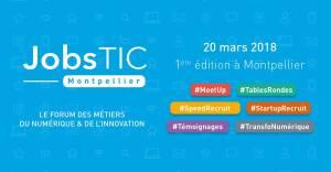 #RH - JobsTIC Montpellier - By La Mêlée @ Espace French Tech Montpellier, Salle Pagézy | Montpellier | Occitanie | France