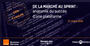 #TECH - De la marche au sprint : anatomie du succès d'une plateforme - By France Digitale @ Orange | Paris | Île-de-France | France