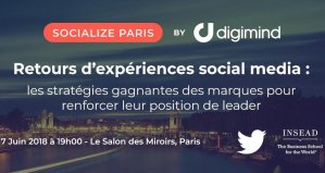 #MARKETING - Socialize Paris - By Digimind @ Le Salon des Miroirs | Paris | Île-de-France | France