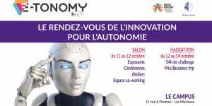#INNOVATIONS - E-TONOMY 2018 - By INVIE @ Le Campus | Les Mureaux | Île-de-France | France