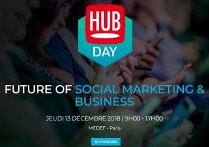 #MARKETING - Future of Social Marketing & Business - By Hub Institute @ MEDEF | Paris | Île-de-France | France