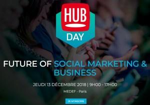 #MARKETING - Future of Social Marketing & Business - By Hub Institute @ MEDEF | Paris | Île-de-France | France