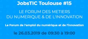 #eRH - JobsTIC, Forum des métiers du numérique et de l'innovation - By La Mêlée @ Nova Mêlée