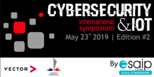 "#TECH- Symposium international ""Cybersecurity & IoT"" - By ESAIP @ ESAIP"