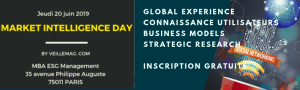 #MARKETING - Market Intelligence Day - By Veille Magazine @ ESG Paris,
