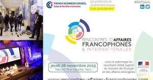#RH - Rencontres d'Affaires Francophones & Internationales - By Mission Internationale @ Paris Marriott Rive Gauche Hotel & Conference Center