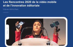 #INNOVATIONS - Les Rencontres 2020 de la vidéo mobile et de l'innovation éditoriale - By Samsa @ Pan Piper de Paris