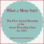 What a Mom Says: A Roundup of the Best Parenting Lines of 2013