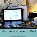 Fifteen Ways to Break the Block