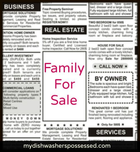 Family for Sale