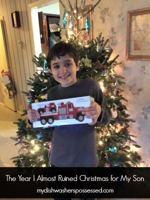 The Year I Almost Ruined Christmas for My Son