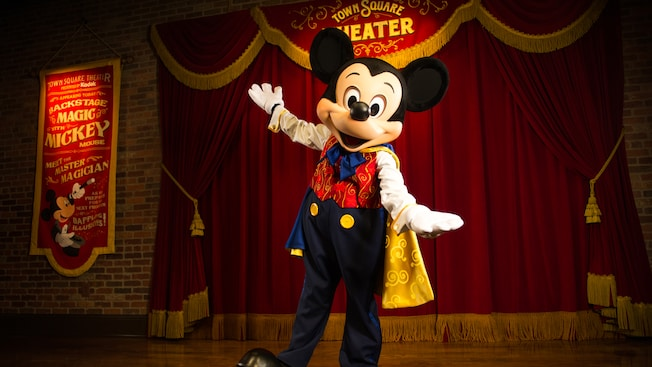 Official talking mickey meet and greet now gone from magic kingdom mickey mouse at town square theater m4hsunfo