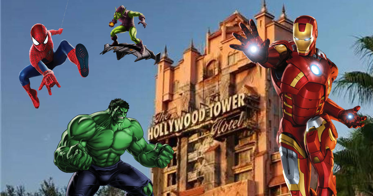 Breaking Hollywood Studios Getting Marvel Land As Disney Regains