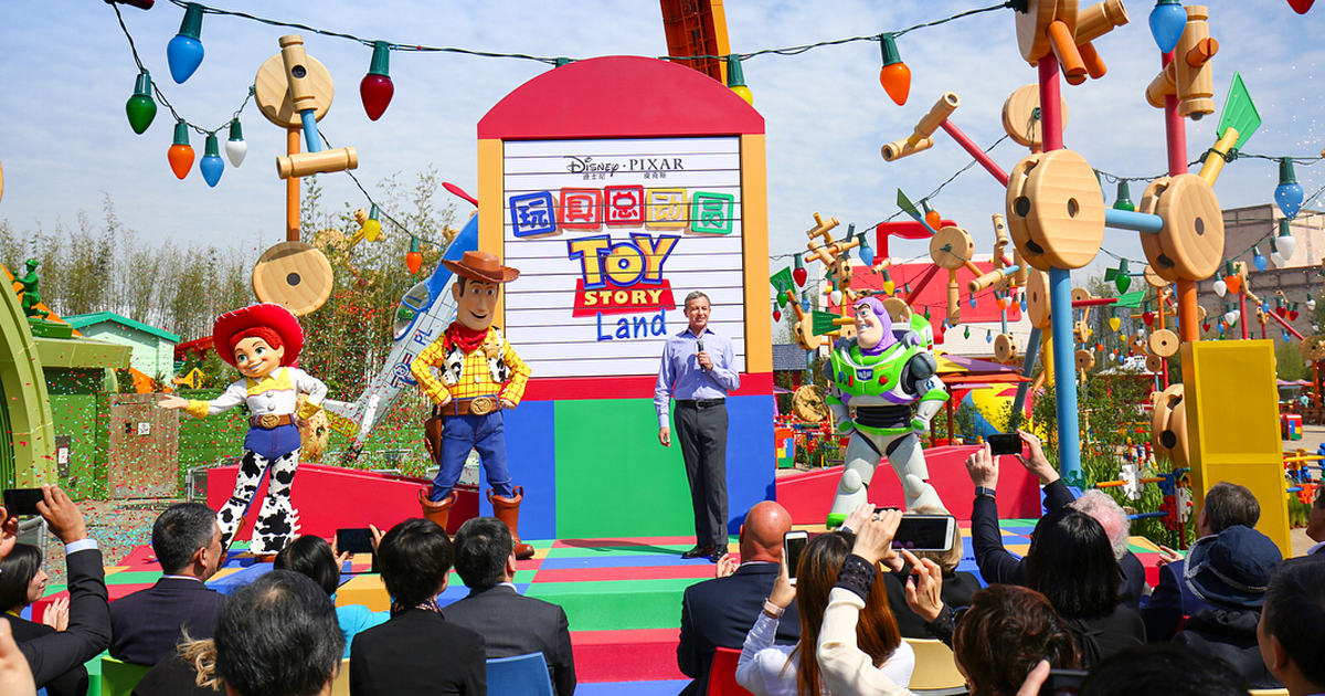 Toy Story Land debuts at Shanghai Disney