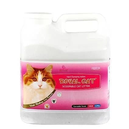 Arena Para Gatos Royal Scoopable Lavanda 7 kg