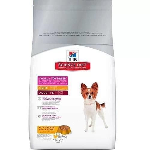 Hills® Science Diet™. Perros Adultos de Razas Pequeñas. Bajo en calorías 15.5 Lb