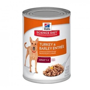 Hills adulto lata Turkey & Barley