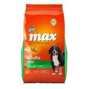 MAX ADULTO BUFFET POLLO & VEGETALES 20 kg