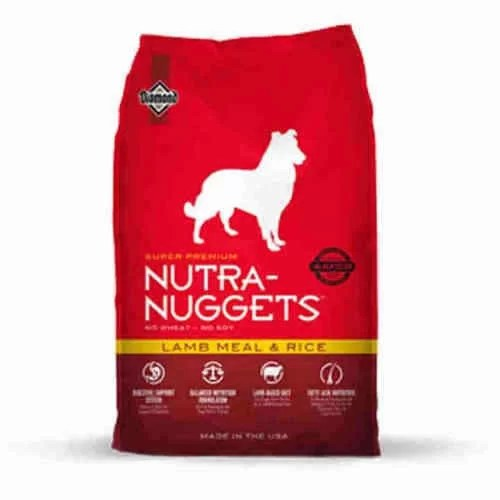 Nutra Nuggets Adulto Cordero y arroz