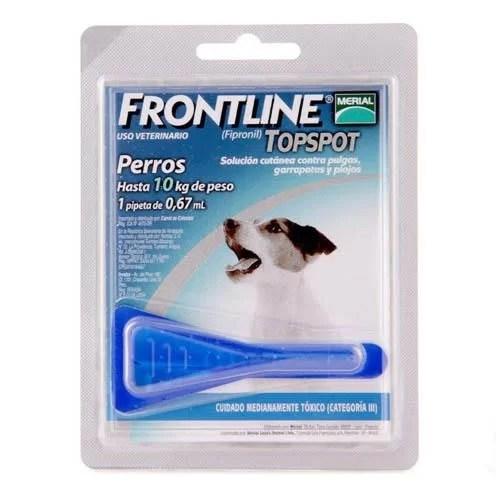 Antipulgas Frontline perros hasta 10 kg