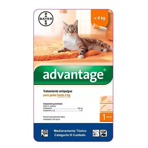 Advantage para Gatos 4 kg
