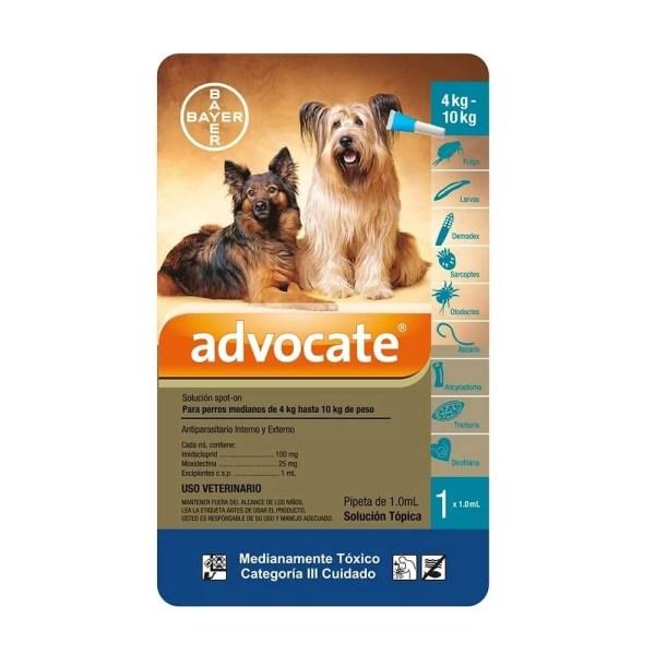 Advocate para Perros de 4 a10